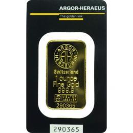 Zlatý slitek 1 x OZ