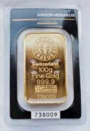 Zlatý slitek 100g - zvìtšit obrázek