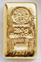Zlatý slitek 250g