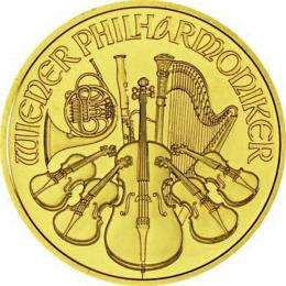 Wiener Philharmoniker  1/10 OZ Gold
