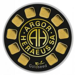 Argor-Heraeus Goldseed 10 x 1 g - zvìtšit obrázek