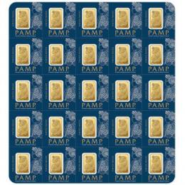 PAMP FORTUNA 25 X 1 G MULTIGRAM Investièní zlaté  slitky