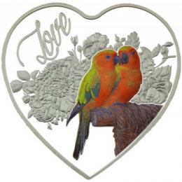 Støíbrná mince z lásky