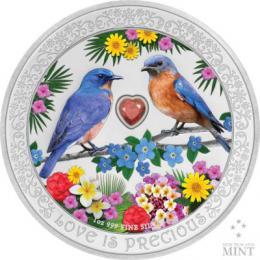 Støíbrná mince Láska je vzácná - zvìtšit obrázek