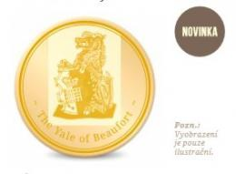 The Queens Beast The Yale of Beaufort 5 Oz Au Proof