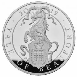 The Queens Beast The Yale of Beaufort 1 kg Ag Proof