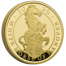 Zlatá mince The White Horse of Hanover 1OZ Proof