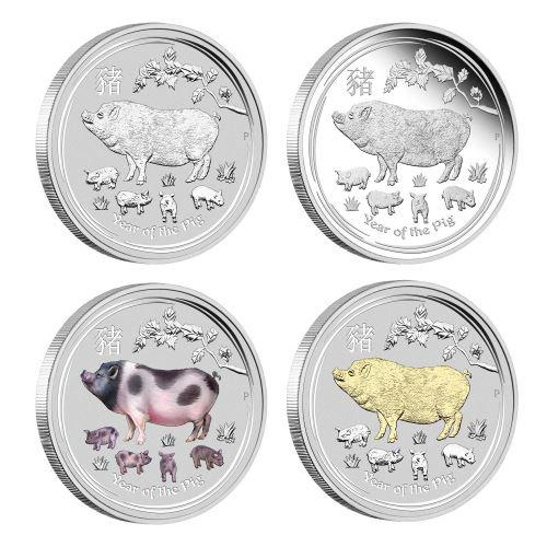 Rok Vepøe 2019 Sada 4 mincí
