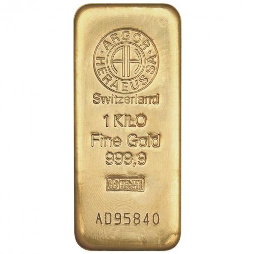 Zlatý slitek 1.000g