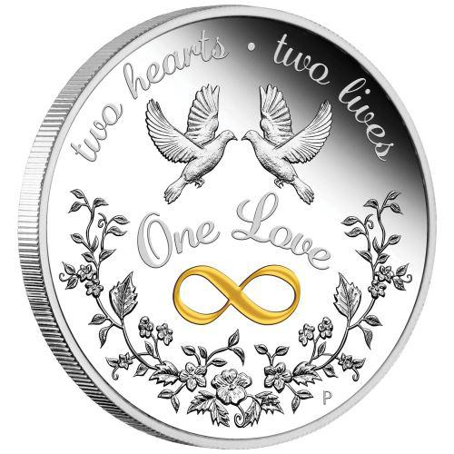 One Love 2020 1oz Silver Proof Coin 1oz