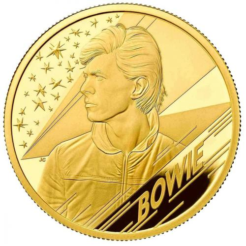 David Bowie  Music Legends 1 OZ Gold Coin Proof