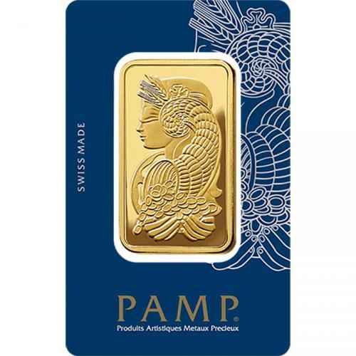 Zlatý slitek PAMP Fortuna 50 g