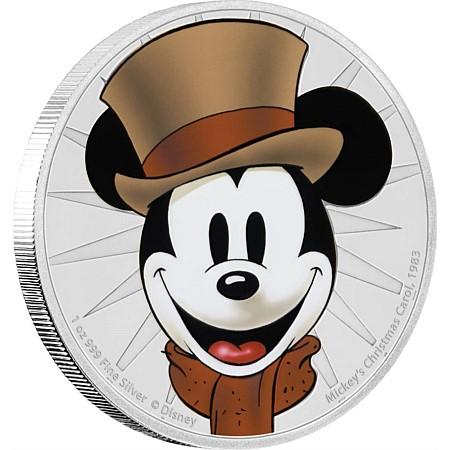 Mickey ve støíbøe 1OZ - zvìtšit obrázek