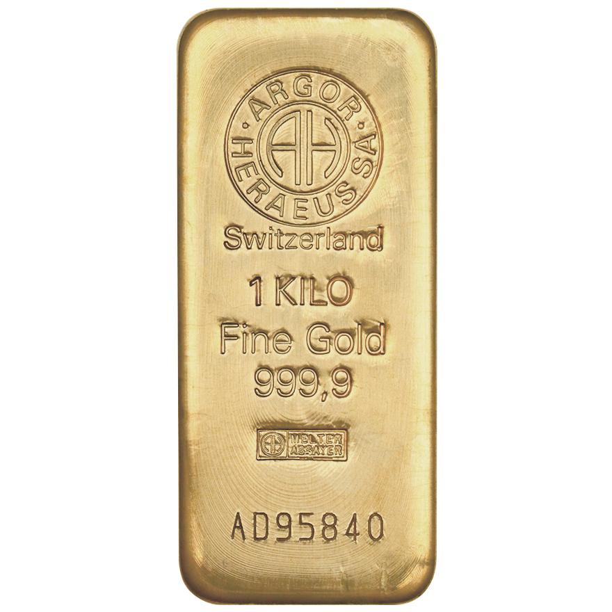 Zlatý slitek 1.000g - zvìtšit obrázek