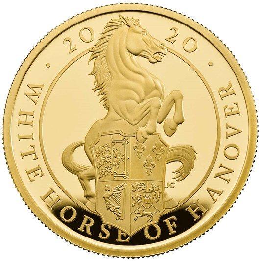 Zlatá mince The White Horse of Hanover 5 OZ Proof - zvìtšit obrázek