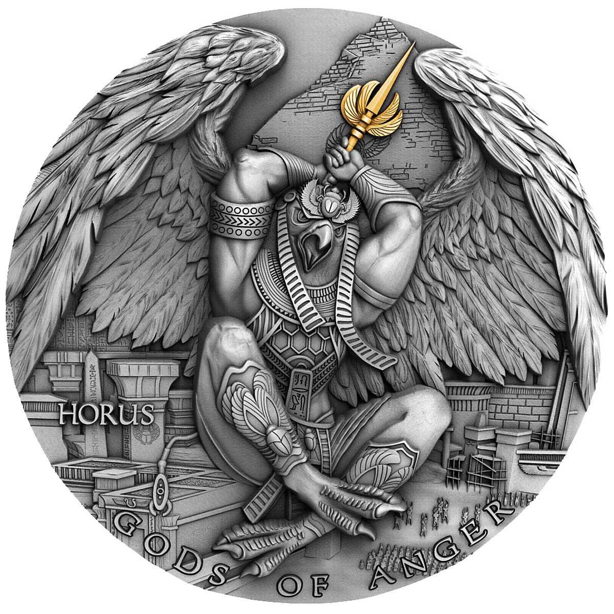 HORUS - SÉRIE BOHOVÉ HNÌVU 2OZ - HORUS GODS OF ANGER  - zvìtšit obrázek