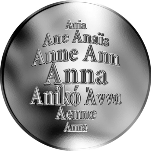 Anna - støíbrná medaile - zvìtšit obrázek