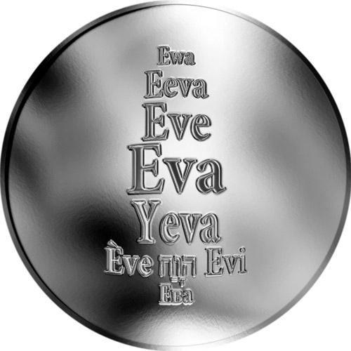 Eva - støíbrná medaile - zvìtšit obrázek