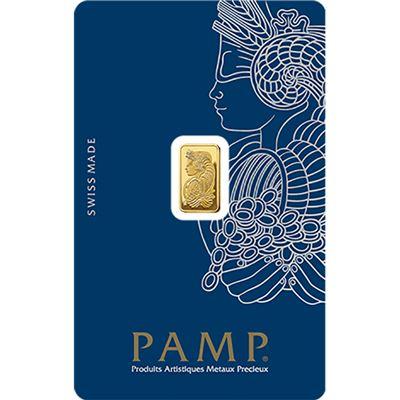 Zlatý slitek PAMP Fortuna 1 g - zvìtšit obrázek