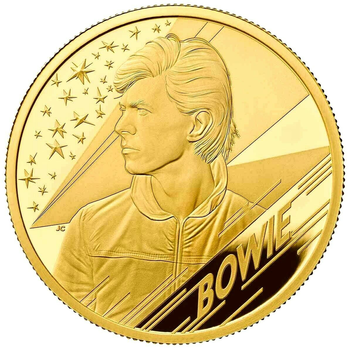 David Bowie  Music Legends 1 OZ Gold Coin Proof - zvìtšit obrázek