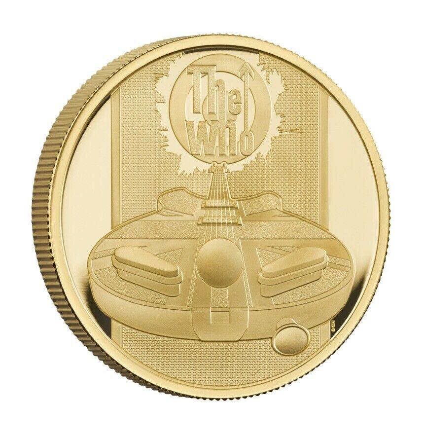 The Who Music Legends 1  Oz  Au  proof coin 2021 Royal Mint - zvìtšit obrázek